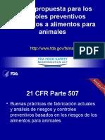 Fsma Pcaf Spanish