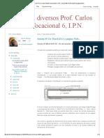 Convertir un documento Word 2013 a página Web, Prof. Carlos Montiel Rentería, elbragao69, IPN