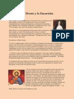 Beata Maria Droste y La Eucaristia