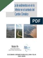 sedimentacion Rio Pararna