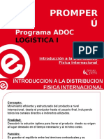 1. Introduccion a La Distribucion Fisica Internacional