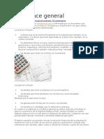 Economía - El Balance General