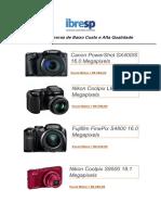 Lista de Câmeras de Baixo Custo e Alta Qualidade
