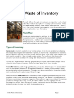 4b the Waste of Inventory