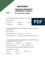 Balotario Enfermedades Emergentes y Reemergentes Sábados Octubre 2016 (2)