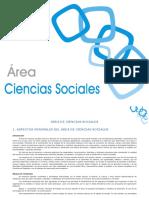 Anexo I Orden - Ciencias Sociales