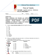 8_Ligações Químicas - Moléculas