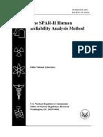 SPAR H Worksheet
