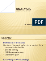 BE Demand Analysis