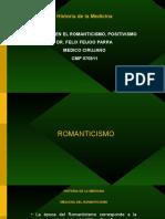 Historiadelamedicina_clase7(Medicina_positivismo, Romanticismo) (1)