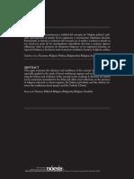 Savarino, Franco - Religión Política [Nóesis] (2015) (Pp.110-137)