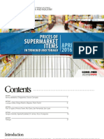 Supermarket Prices BookletApril 2016