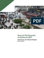 Guia de PLANIFICACION PARA BRT