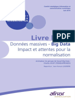 Livre Blanc Afnor Big Data 2015