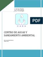 AGUAS Y SANEAMIENTO AMBIENTAL