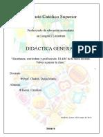Trabajo de Didáctica 2