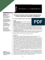 Falciparum Malaria With Neurological Manifestations