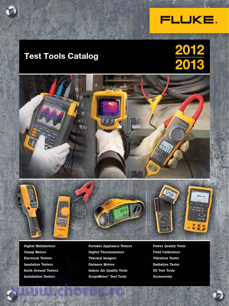 Catalog Materiale Electrice Fluke Pdf Electrical