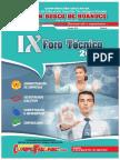 Revista IX Foro Técnico 2016