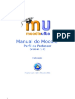 Moodle - Manual do professor