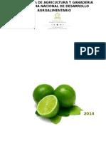 Perfil de Mercado Del Limon Persa Citrus Latifolia