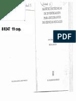 Garza Mercado - Manual de Tecnicas de Investigacion - El Plan de Trabajo