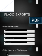 Flaxo Exports Animated