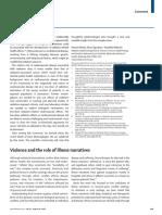 Violence and Illness Narratives Lancet