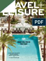 Travel + Leisure - January 2015  USA