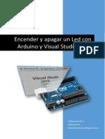 Apagar y Encender Led Con Arduino y Visual Studio 2015