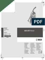 Gas 25 l Sfc Professional Manual 125822