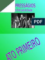 PPT Frei Luís de Sousa - Daniel Cazeiro