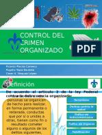 Control Del Crimen Organizado. Presentacion