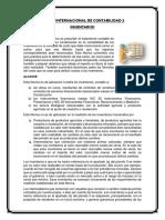 Norma Internacional de Contabilidad 2