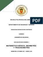 Matematica Basica - Guia 1