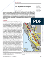 Missing link between the Hayward and Rodgers Creek faults