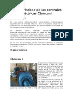Características de Las Centrales Eléctricas Charcani