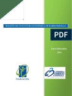 Boletín de Coyuntura Económica de Barranquilla (Enero-diciembre 2014) (Cámara de Comercio de Barranquilla)