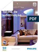 Tabela de Substituicao Lampadas Led Philips