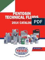 Pentosin Fluids 2014