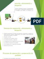 Sistema de Separación y Alistamiento (1)..