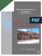 PIP Mejoramiento de Infraestructura IE 56257