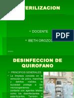 DESINFECCIÓN QUIROFANOS