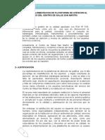 Modelo de Informe de Implementacion de Plataforma de Atencion Al Usuario