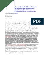 Analisis Dampak Desentralisasi Pajak Bumi Bangunan Dan Bea Perolehan Hak Atas Tanah Dan Bangunan Terhadap Penerimaan Daerah Dalam Anggaran Penerimaan Dan Pendapatan Daerah Kota