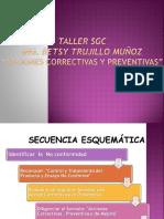 Taller_sgc_acciones Correctivas y Preventivas