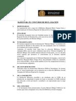 Bases Para El Concurso de Declamacic3b3n 1