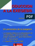 Introduccion a La Exegesis 1