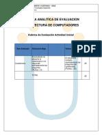 Rubrica Analitica de Evaluacion 301302-2016-4