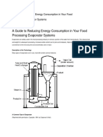 A Guide to Reducing Energy Consumption in Your Food Processing Evaporator Systems (1)